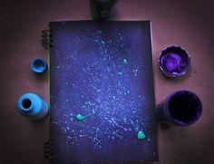#Galaxia #Portada #Cuaderno #DIY #manualidad #Decoración #colegio #personaliza #Youtube #Vídeos #Galaxy #Notebook