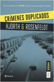 """El blog de Juan Carlos: Sebastian Bergman 2: """"Crímenes duplicados"""""""