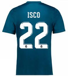 Real Madrid 2017-18 Third Kit ISCO