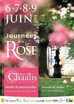 Journées de la rose à Chaalis. Du 6 au 9 juin 2014 à Fontaine-Chaalis.