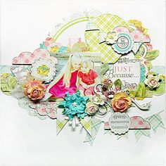 TSC Project by DT member Trudi Harrison featuring My Private Happiness collection.