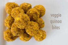Kid food: Veggie Quinoa Bites // The Veggie Mama