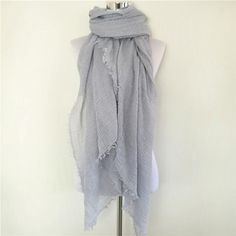 New women Scarf shemagh High Quality Shawls And Scarves Linen Cotton crinkle hijab