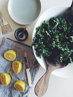 101 Cookbooks Raw Tuscan Kale Salad :: worth a try..the dressing is awesome~