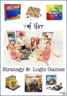 Logic and Strategy Games Kids Love to Play | Imagination Soup