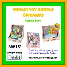 Mirari Toy Bundle #Giveaway Ends 11/1 - Michigan Saving and More