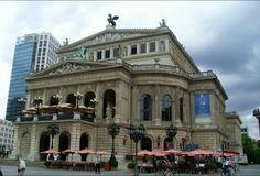 Alte Oper - Frankfurt (Ópera Antigua). Frankfurt am Main: Deutschland