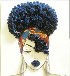 61 Super Ideas For Black Art Afro Queens Black Love Art, Black Girl Art, Black Girls Rock, Art Afro, Natural Hair Art, By Any Means Necessary, Black Art Pictures, Art Africain, Black Artwork