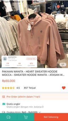 Casual Hijab Outfit, Ootd Hijab, Best Online Clothing Stores, Online Shopping Clothes, Hijab Fashion, Korean Fashion, Online Shop Baju, Hoodies, My Style