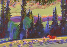 Notecards Award Winning Paintings Stephen Quiller