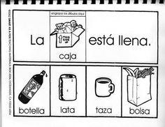 Crear oraciones - en español.