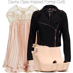 The Originals - Davina Claire Inspired Formal Outfit by staystronng on Polyvore featuring MINKPINK, Qupid, to, formal, TheOriginals and DavinaClaire