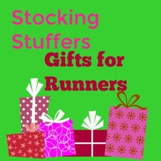 Stocking Stuffer Gifts for Runners - Kim Today