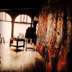 #inside#studio#artist#barranco#lima#peru Ask for your tailored experience via contact@tailoredtoursperu.com