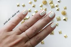 Gold Dots & Delicate Rings