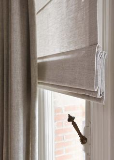New Bedroom Colors White Window Treatments 29 Ideas Rustic Curtains, White Curtains, Curtains With Blinds, Bedroom Curtains, Bay Window Blinds, Wood Valance, Roman Curtains, Linen Curtains, Blackout Curtains