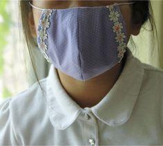 まるい立体マスク【型紙アリ】の作り方|ソーイング|編み物・手芸・ソーイング|アトリエ