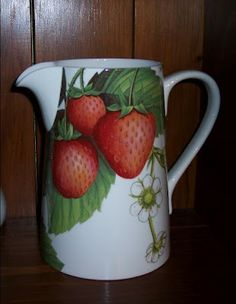 strawberry   kitchen | Across My Kitchen Table: Strawberry decor ... and more