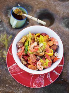 Prawn panzanella | Jamie Oliver | Food | Jamie Oliver (UK)