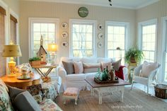 Savvy Southern Style: Our Home Paint Colors-Sun Room