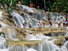 Begin your quest for the unexpected in Jamaica. Climb Dunn's River Falls, go bobsledding down Mystic Mountain, go zip lining in Ocho Rios and watch young cliff divers take the plunge near Rick's Cafe. http://www.travelchannel.com/destinations/jamaica/photos/things-to-do-in-jamaica