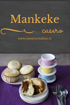 My Recipes, Sweet Recipes, Dessert Recipes, Desserts, Chilean Recipes, Chilean Food, Nutella, Bakers Gonna Bake, Vegan Cupcakes