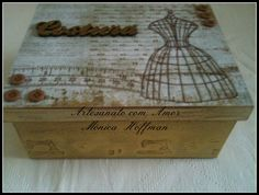 Caixa de Costura - Vendida   Artesanatos com Amor   Elo7
