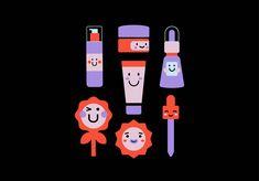 Chok Chok - Brand Identity on Behance Flash Characters, Japan Illustration, Graphic Design Inspiration, Brand Identity, Adobe Illustrator, Packaging Design, Character Design, Behance, Creative