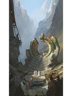 Concept Arts de League of Legends (As Regiões) post #01 | THECAB - The Concept Art Blog