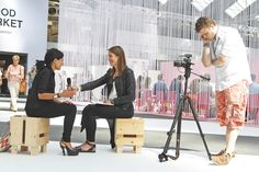 People Tree. Marieke Eyskoot interviews CEO Safia Minney. SS14 www.peopletree.co.uk. via Werner Lampert