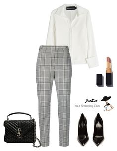"""""""."""" by serpentola ❤ liked on Polyvore featuring Brandon Maxwell, Yves Saint Laurent, Carbotti and Alexander Wang"""