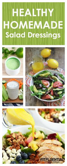 are healthy. There's no doubt about it. But salad dressings? Avocado Recipes, Clean Eating Recipes, Raw Food Recipes, Healthy Dinner Recipes, Healthy Snacks, Healthy Eating, Cooking Recipes, Salad Dressing Recipes, Salad Recipes