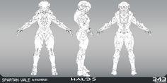 ArtStation - Halo 5 - Vale, Kyle Hefley