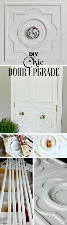 Check out the tutorial: #DIY Chic Door Upgrade @istandarddesign