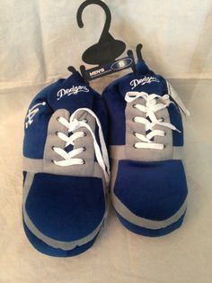 df39e4deb20 MLB Los Angeles Dodgers Men s Sneaker Slippers www.mancavesonline.com