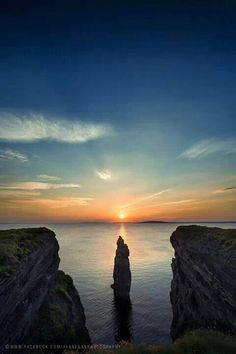 Bromore Cliffs, Ballybunion, County Kerry.
