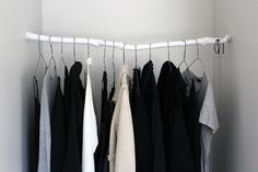 Milk & Mead: Uniform: DIY Branch Clothing Rack