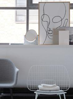 Minimal interior - MENU's new minimal loft apartment show flat in London's