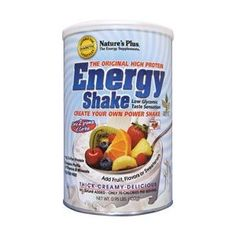 #energy #drink - Nature's Plus - Energy Shake-The Universal Protein, 432 g powder (Health and Beauty)