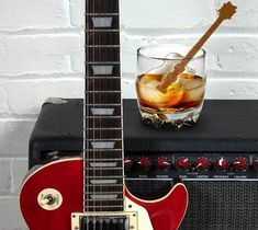 Cool Jazz Guitar Ice Cube Stirs – $12