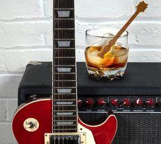 Cool Jazz Guitar Ice Cube Stirs – $12