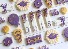 Cocoa shortbread by Christophe Felder - HQ Recipes Graduation Desserts, Graduation Cookies, Graduation Decorations, Birthday Cookies, College Graduation, Sugar Cookie Royal Icing, Iced Sugar Cookies, Cut Out Cookies, Cute Cookies
