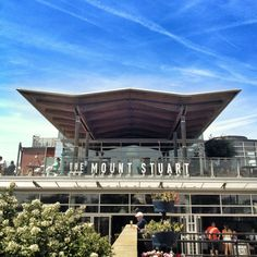 The Mount Stuart - a Wetherspoon pub opened in July 2013 in Cardiff Bay. Forget all you know or think you know about Wetherspoon, they've done a proper tidy job here.