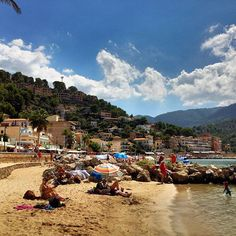 Beach-Time at Port Soller
