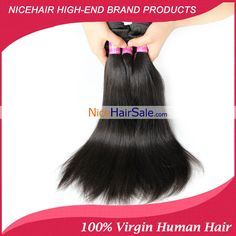 NiceHairSale  Wholesale Virgin Brazilian Straight Human Hair Extensions For Cheap Top Quality Remy Hair 3Bundles On Sale #NiceHairSale #VirginHair #RemyHair #HumanHair #BrazilianHair #HairSale