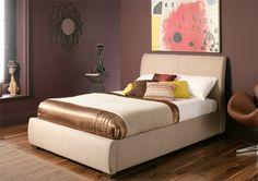 Sienna Upholstered Ottoman Storage Bed