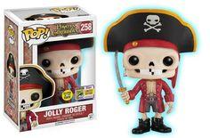 San Diego Comic-Con 2017 Exclusive Pop! Disneyland Resort - Jolly Roger (Glow-in-the-Dark 1000 LE)