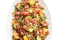 Heirloom Tomato Tabbouleh Salad