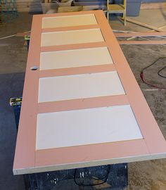 How to DIY a 5 Panel Door by Jenna Sue Design Co featured on @Remodelaholic