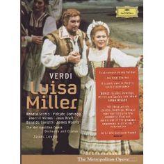 Luisa Miller: Metropolitan Opera Levine DVD 2006: Amazon.co.uk: Verdi, Scotto, Kraft, Domingo, Met, Levine: Film & TV